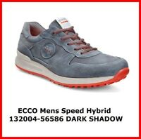 New Ecco Mens Golf Shoes Speed Hybrid Darkshadow Spikeless EU39 40 41 42 43 $200