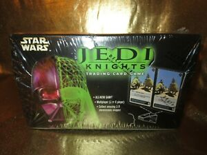 Star Wars Decipher Jedi Knights Trading Card Booster Box Sealed NEW