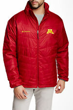 Columbia Collegiate Mighty Jacket Minnesota Golden Gophers Mens Size X-Large New