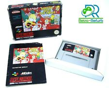 Krusty's Super Fun House Super Nintendo SNES Game Complete Tested PAL UK