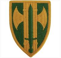 GENUINE U.S. ARMY PATCH: 18TH MILITARY POLICE BRIGADE - COLOR - PAIR