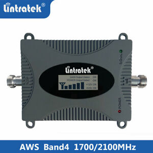 Lintratek Signal Booster 4G LTE 1700/2100MHz Band4 Repeater For AT&T Verizon