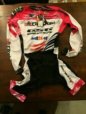 GSG BODY LONG SLEEVE Skinsuit Time Trial TT Suit Cycling S