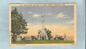Monument To Andrew Johnson, Greeneville, Tennessee*L