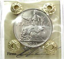 Savoia-Regno d'Italia (Vittorio EM.III) 1 Lira 1923-FDC.