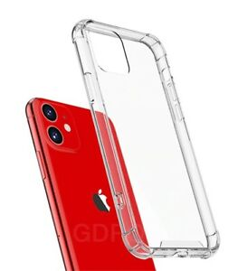 CLEAR Shockproof Case For iPhone 12, 11 Pro Max XR X XS 8 7 6 SE 2 Edge Silicone