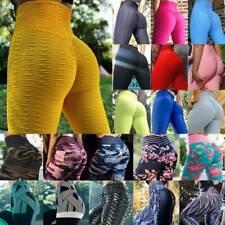 Women Push Up Yoga Pants Leggings Anti-Cellulite Sports Plus Size Trousers M90