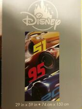 Disney Cars Beach Towel Bath Pool Swim New with tag