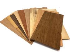 Furnier Set 9 Starkfurniere Holz Eiche Nussbaum Buche Modellbau Basteln Platte