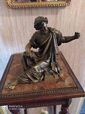 Homme Drapé en Bronze XIXème