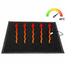 Infrarot Heizteppich warme Fußmatte beheizte Gummimatte IP66 wasserdicht 60x80cm