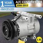 A/C Compressor 10980C w.Cluthfor Kia Rio Rio5 1.6L 2006 2007 2008 2009 2010 2011