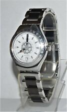 "SWATCH IRONY-AUTOMATIC  ""SPINNIN"" YAS 401 EDELSTAHL + 2. BAND GARANTIE"