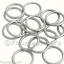 1.25 inch Purse net rings (30mm) x 50