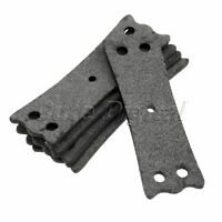 Slingshot Pouches with Center Hole Outdoor Hunting Catapults Accessories Gray