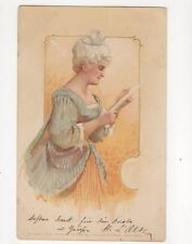 Chromo Litho Greetings Art 1903 Postcard Theo Stroefer 180b