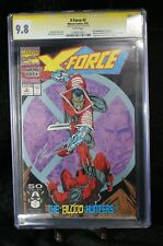 X-Force #2 CGC SS 9.8 - Signed by Rob Liefeld - 2nd Deadpool - Marvel 1991