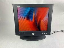 """Vintage Dell 8G152 UltraSharp 17"""" LCD VGA DVI Monitor w/ Power Supply - Grade B"""