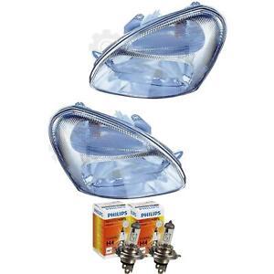 Scheinwerfer Set Daewoo Nubira 06.99-08.03 H4 mit Motor inkl. Lampen 1379872