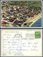 INDIANA Postcard - Evansville, Aerial View M14