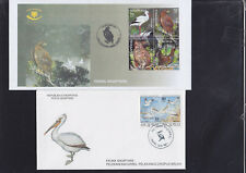 062660 Vögel Birds Shqiperia Albanien  FDC First Day Cover - Year 1997 + 2003