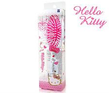 Hello Kitty Oval Cushion White Hair Brush Dressing Styling Curling HK078 Plastic