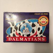 McDonald's 101 DALMATIANS Dalmatian Celebration Disney Snow Dome 1996 -- NEW NIB