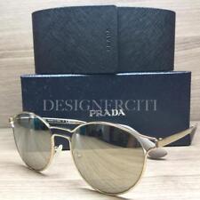 Prada SPR62S Sunglasses Gold Nude ZVN 1C0 Authentic 53mm