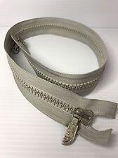 The North Face YKK Vislon 2-Way Separating Zipper, 71cm, Gray ~free Shipping~