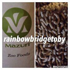 Mazuri Exotic Leaf Eater Tortoise Pellets 3 Kilo Free Postage