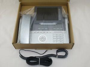 T-Octophon F680 Siemens Unify OpenStage 80T Systemtelefon Re_MwSt silber Telefon