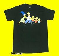 New The Simpsons Congo Line Classic Mens Vintage T-Shirt