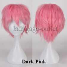 Hot Style Women Mens Hair Wig Short Straight Anime Cosplay Wig Party Costume ad