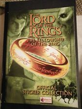 Lord of The Rings The Fellowship Of Ring Merlin album Complete with Poster