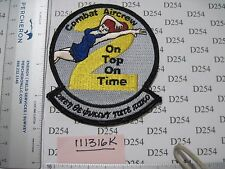 NAVY USN Squadron Patch COMBAT AIRCREW 2 Two CAC-2 On top On time