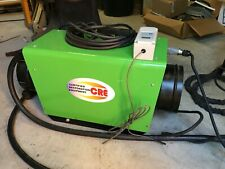 CRE Electric Duct Heater Mobile UnitJob Site Complete Plug in Unit