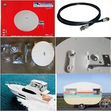 Caravan Boat TV Antenna UHF VHF House Digital 4g Omni Directional 01mm-sl01 FM
