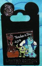 Disney Pin LE  TEACHER'S DAY 2014 MONSTERS INC MIKE SULLEY