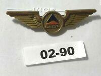 AIRLINE JUNIOR PILOT WINGS: Delta Airlines 02-90