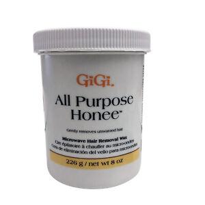 GiGi All Purpose Honee Microwave Hair Removal Wax 8 OZ