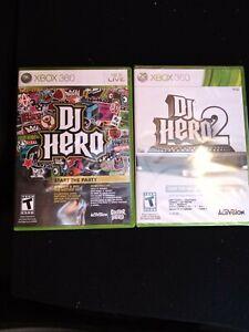 Dj Hero 1+2 Bundle #2 still factory sealed
