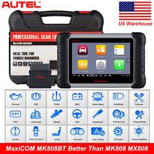 Autel MaxiCOM MK808BT OBD2 Diagnostic Tool Injector ABS EPB Upgrade MK808 DS808