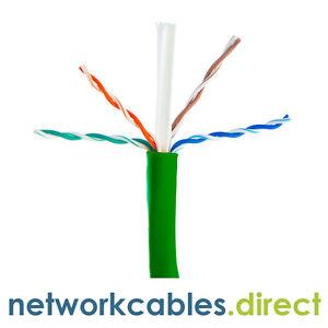 CAT6a UTP LSZH Network ethernet lan cable oxygen free copper 305m