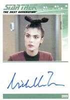 Star Trek TNG Heroes & Villains Michelle Forbes as Dara Autograph Card