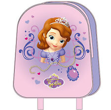 "Disney Sofia the First Mini New Backpack Girls School Bag 10"" Official Licensed"