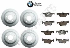 BMW F30 F31 F32 3 & 4 Series Vented Front & Rear Disc Brake Rotors Pads Kit OES