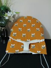 Babyhood bouncer liner-Buzzy bees-Funky babyz,Australian made