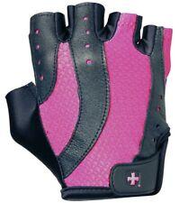 NEW Harbinger Women's Pro Weight Lifting Fitness Gloves 149 Fuchsia Blk Large