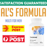 Thorne Research AIs Formula 240 Capsules Multi For Men Vitamin A C D E K AU