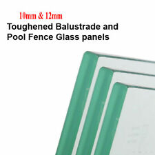 Glass panels, Clear Toughened 10 & 12mm thick